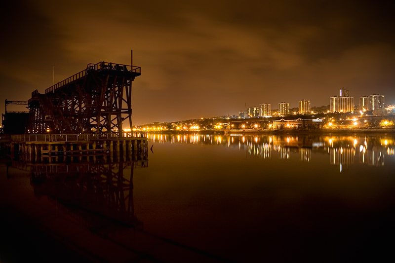 Dunston Coal Staiths (night)
